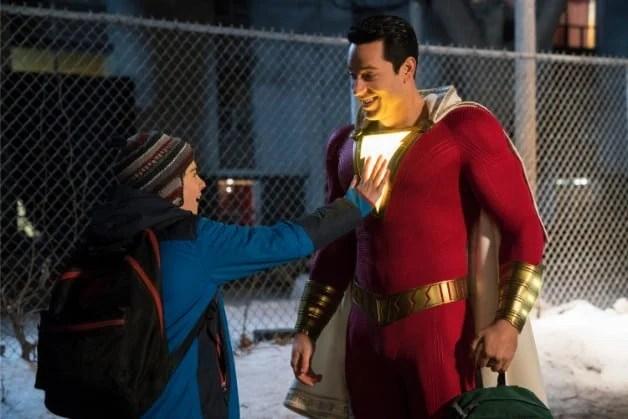 Shazam Star Says Freddys Favorite Superhero Is Superman