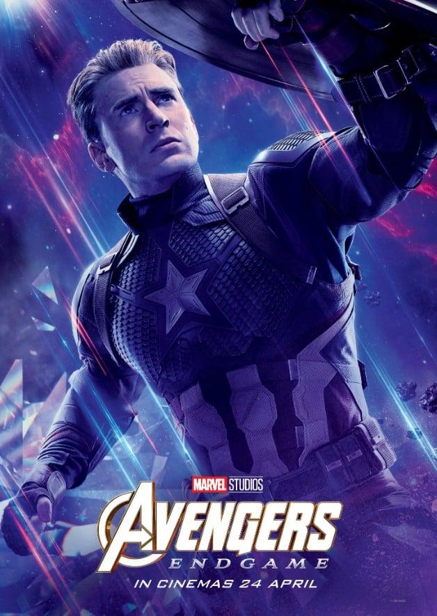 Avengers Endgame Chris Evans Captain America