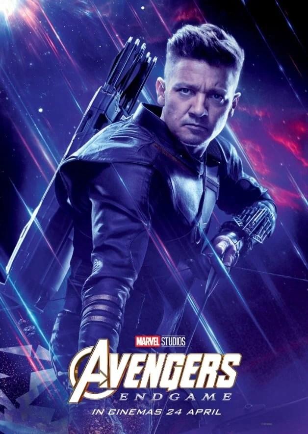 Avengers Endgame Jeremy Renner Hawkeye