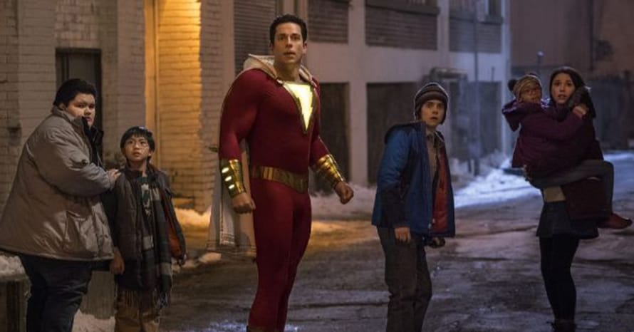 David F. Sandberg Reveals Zachary Levi's New 'Shazam! Fury Of The Gods' Costume