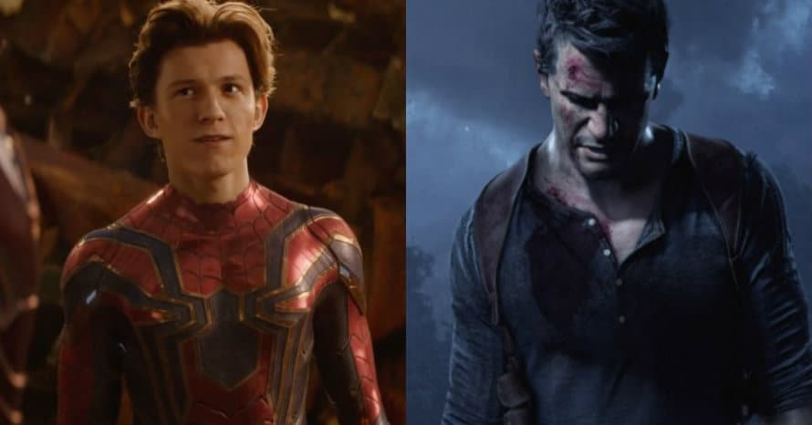 'Uncharted': New Still Shows Tom Holland & Mark Wahlberg In Sony's Live-Action Adaptation