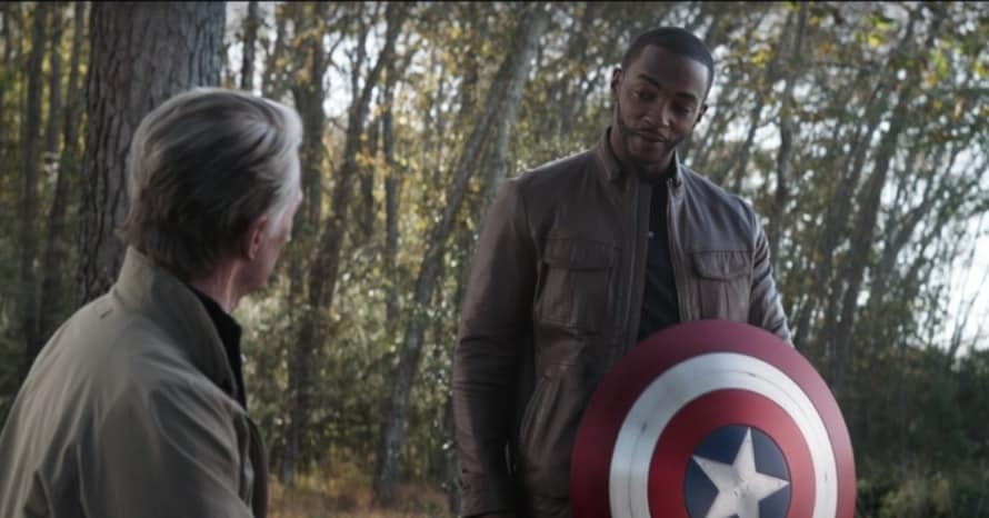 Anthony Mackie's Captain America Suit From 'The Falcon And The Winter Soldier' Revealed