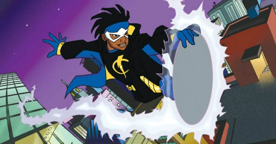 Arrow Arrowvserse DC Comics Static Shock Randy McKinnon Michael B Jordan