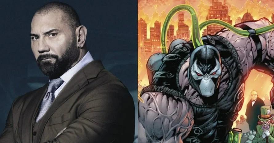 Robert Pattinson Dave Bautista James Gunn Bane The Suicide Squad The Batman Avengers