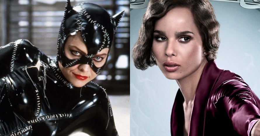 'The Batman': Zoe Kravitz Set Photos Reference Michelle Pfeiffer's Catwoman