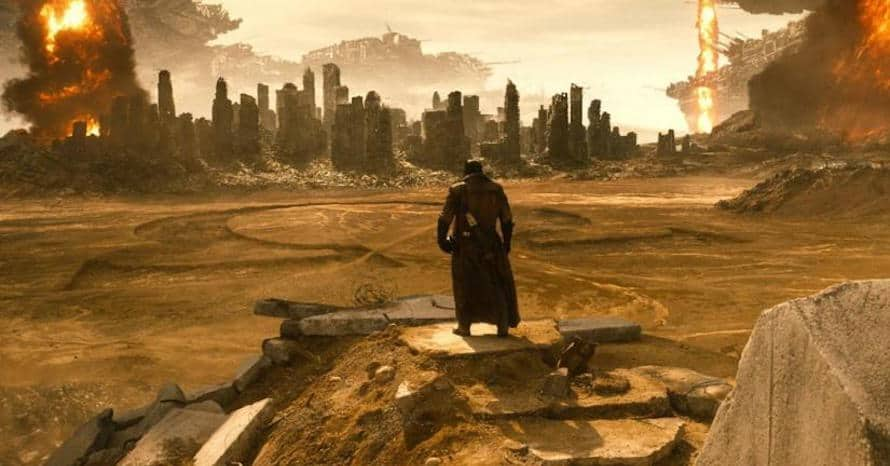 Zack Snyder Justice League Knightmare Batman v Superman Dawn of Justice