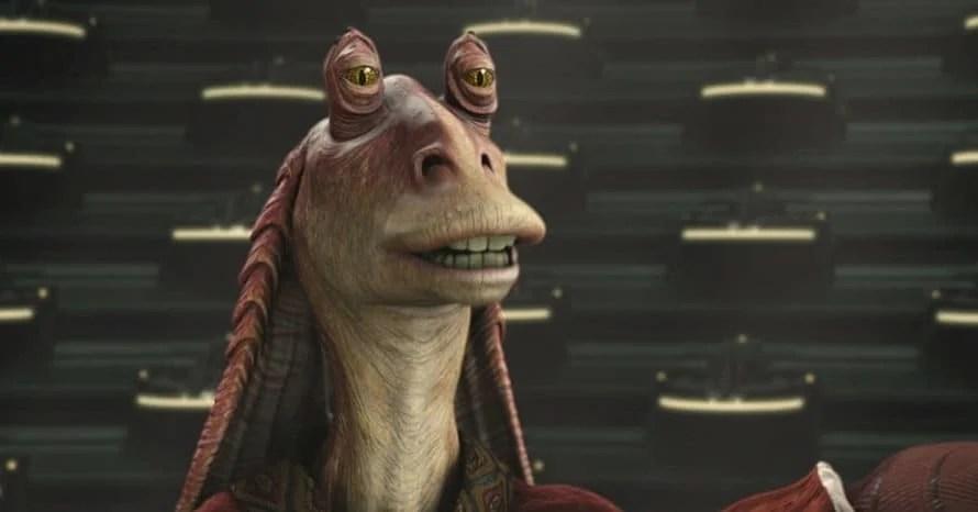 Jar Jar Binks Obi-Wan Kenobi Star Wars Ahmed Best Ewan McGregor