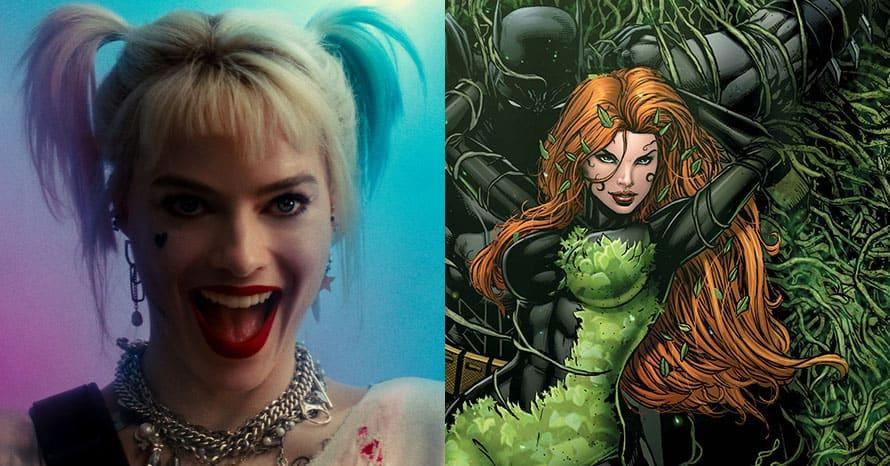 Margot Robbie Harley Quinn Poison Ivy Birds of Prey