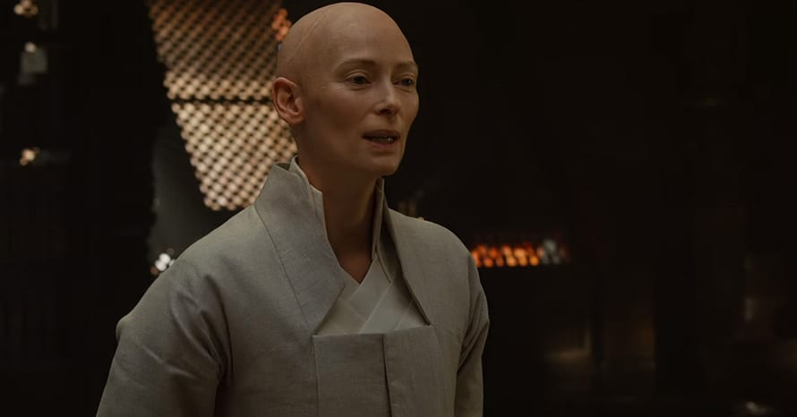 Doctor Strange Tilda Swinton Ancient One Scott Derrickson