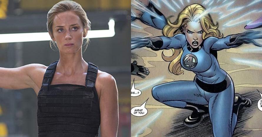 Emily Blunt Fantastic Four Marvel