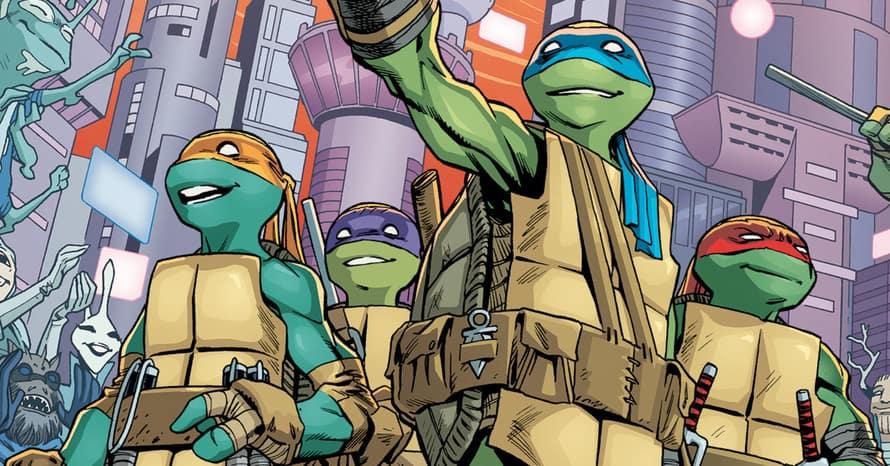 Teenage Mutant Ninja Turtles IDW Seth Rogan