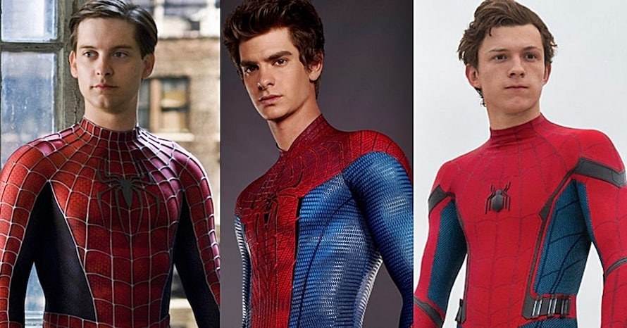Spider-Man Into the Spider-Verse Tobey Maguire Andrew Garfield Tom Holland Sony Kevin Feige