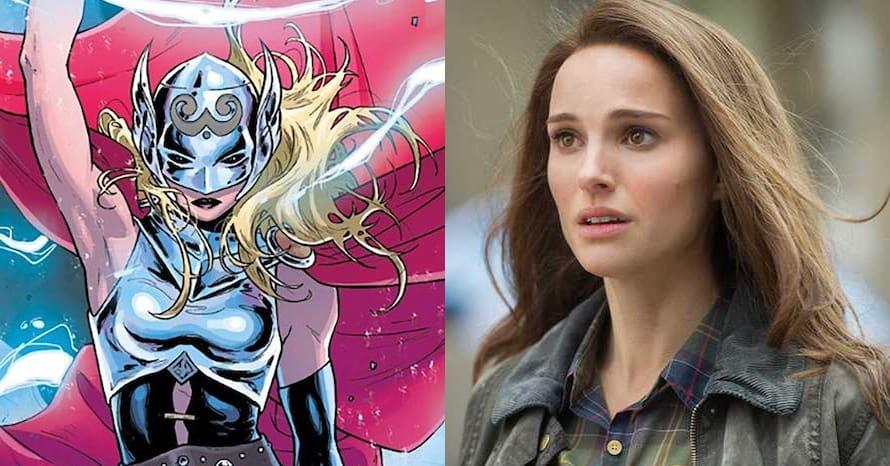 Thor Natalie Portman Chris Hemsworth Love and Thunder Jane Foster