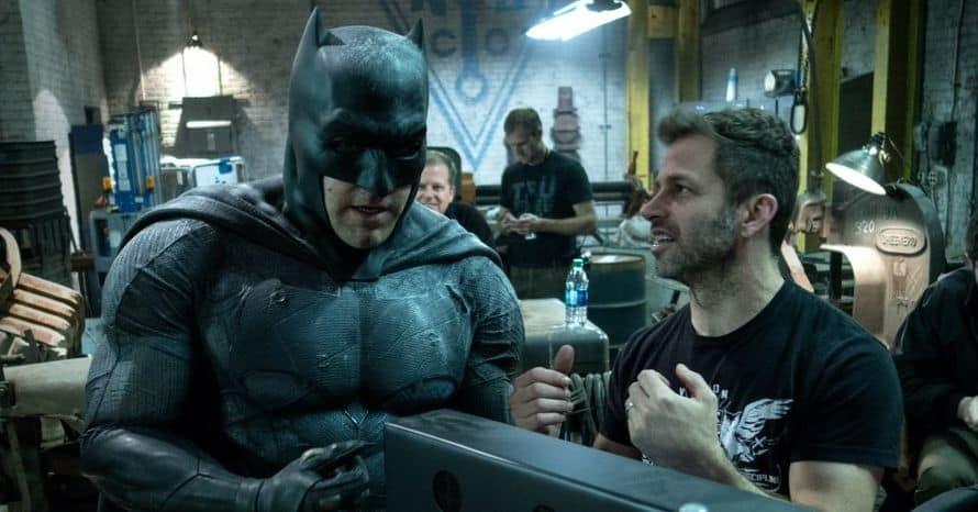 'Justice League' Director Zack Snyder Reveals His Favorite Batman Suit