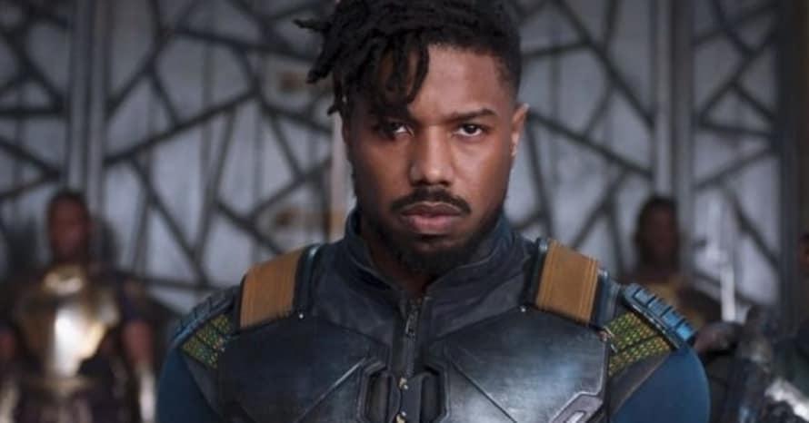 Black Panther Wakanda Forever Michael B. Jordan Chadwick Boseman Static Shock Killmonger