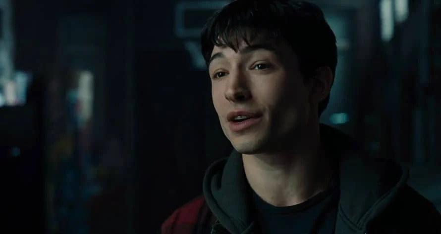 Justice League Ezra Miller The Flash Barry Allen