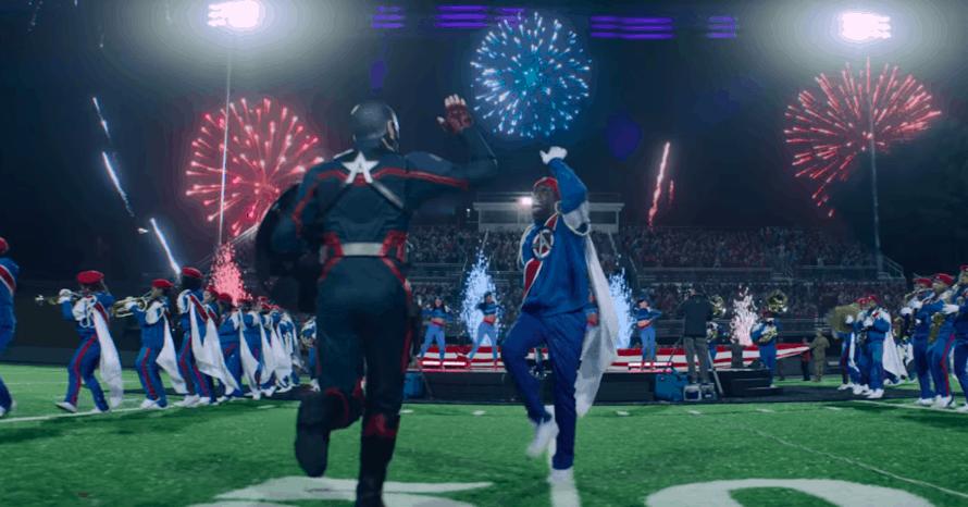 Captain America Wyatt Russell Falcon Winter Soldier US Agent