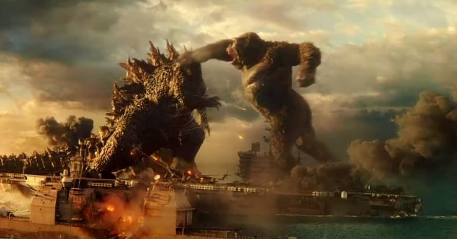 'Godzilla Vs. Kong' Teaser Includes Ferocious New 1 Footage see now.Who's going to win the battle? Will Kong be King or will Godzilla remain supreme?