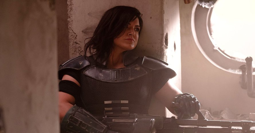 'The Mandalorian: Gina Carano Found Out She'd Been Fired Online