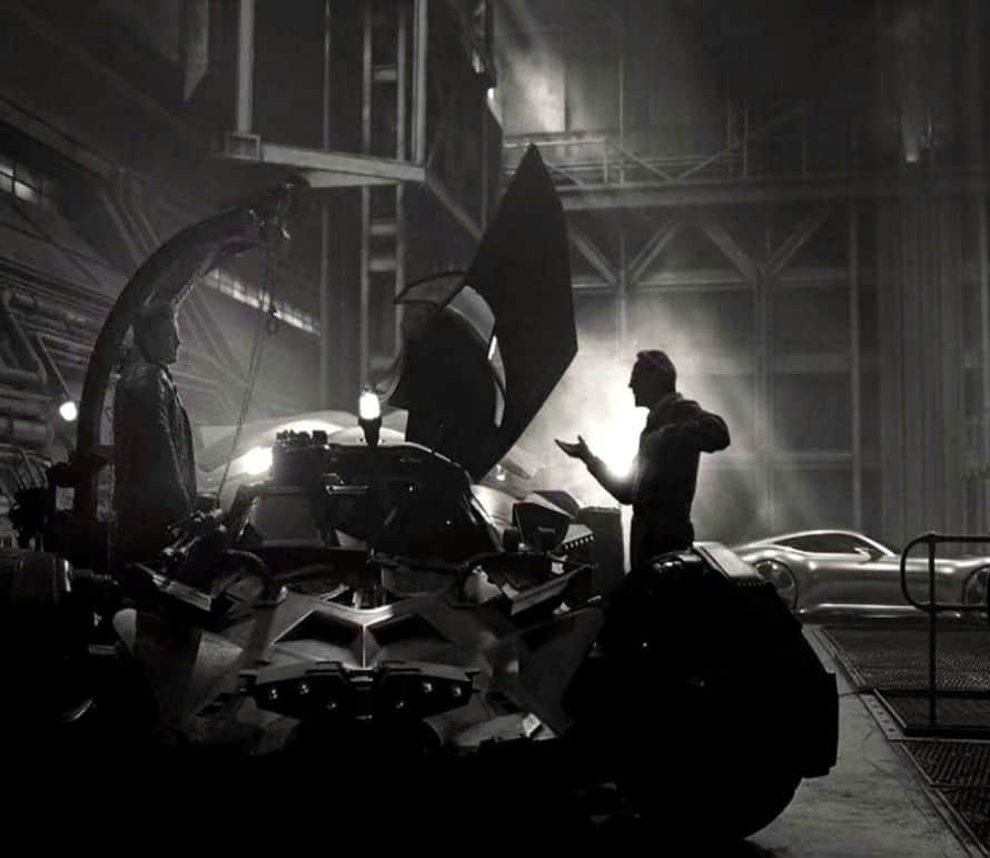 Justice League Ben Affleck Batman Jeremy Irons Alfred Pennyworth Batmobile