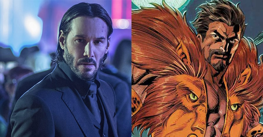 See Keanu Reeves Become Kraven For Tom Holland's 'Spider-Man 3'