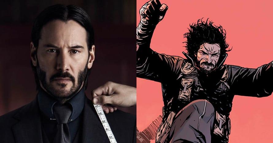 BRZRKR Keanu Reeves Netflix