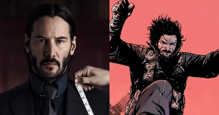 Keanu Reeves' To Star In 'BRZRKR' Live-Action Netflix Movie