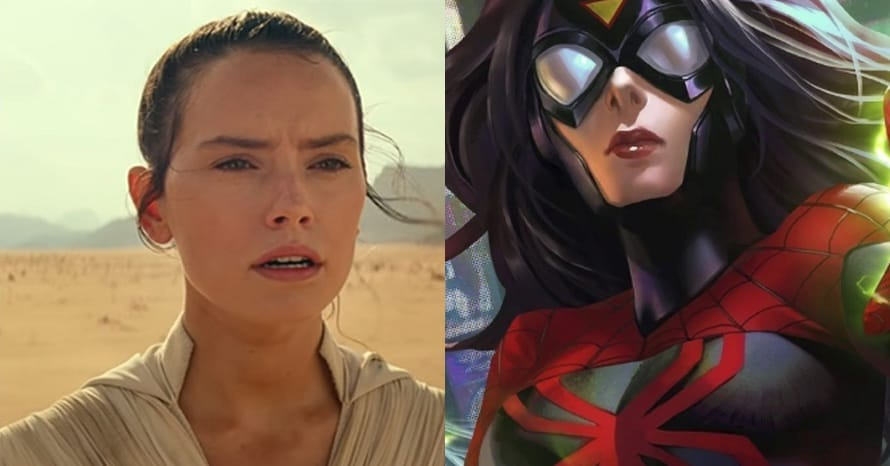 Daisy Ridley Talks 'Spider-Woman' Rumors & If She'd Join The MCU
