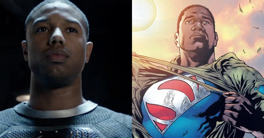 See Michael B. Jordan As Superman Val-Zod To Replace Henry Cavill