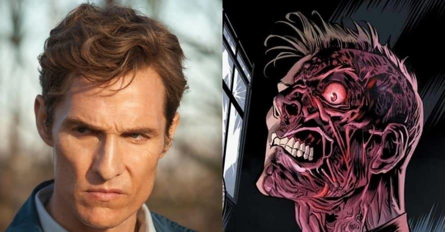 See Matthew McConaughey's Two-Face In Robert Pattinson's Batman