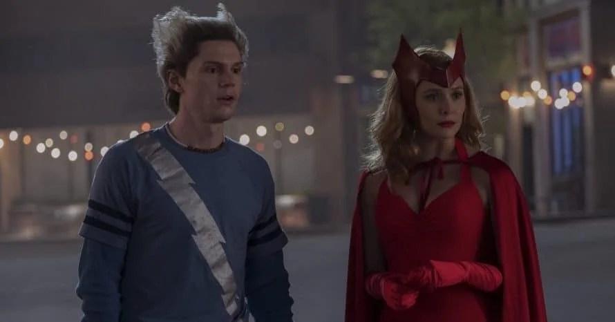 Scarlet Witch WandaVision Evan Peters X-Men