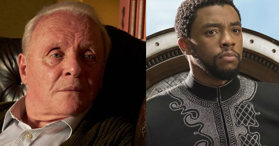 Anthony Hopkins Honors 'Black Panther' Star Chadwick Boseman In Oscars Speech