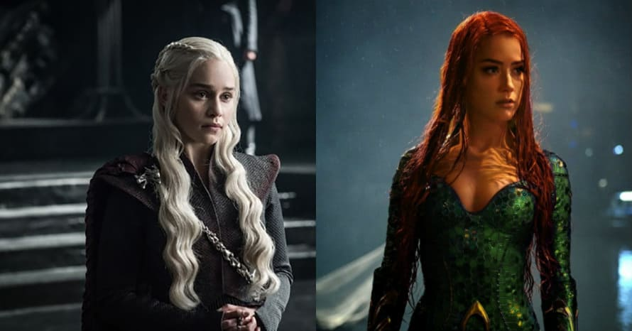 Emilia Clarke Mera Amber Heard Aquaman 2