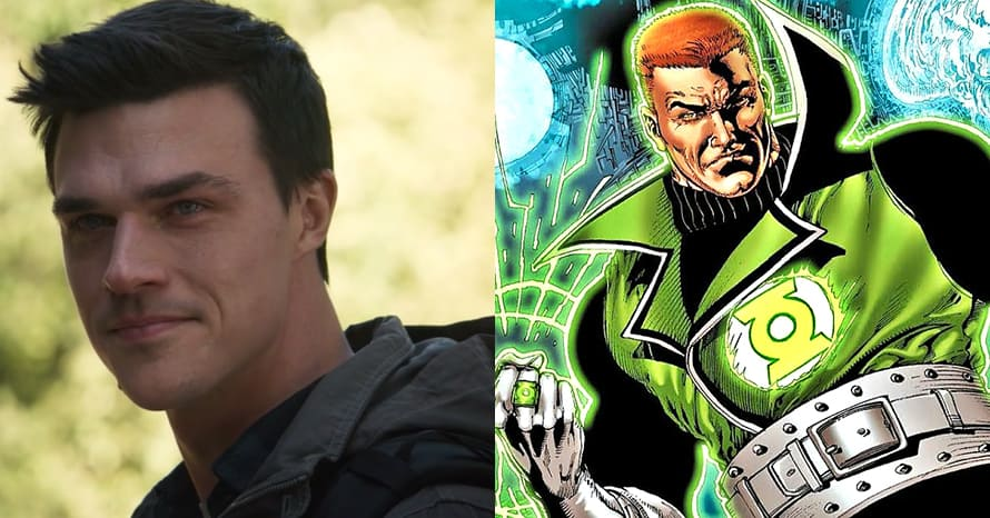 'Green Lantern' Star Finn Wittrock Teases His Guy Gardner Costume