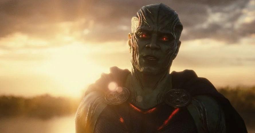 'Justice League' VFX Supervisor On Creating Harry Lennix's Martian Manhunter