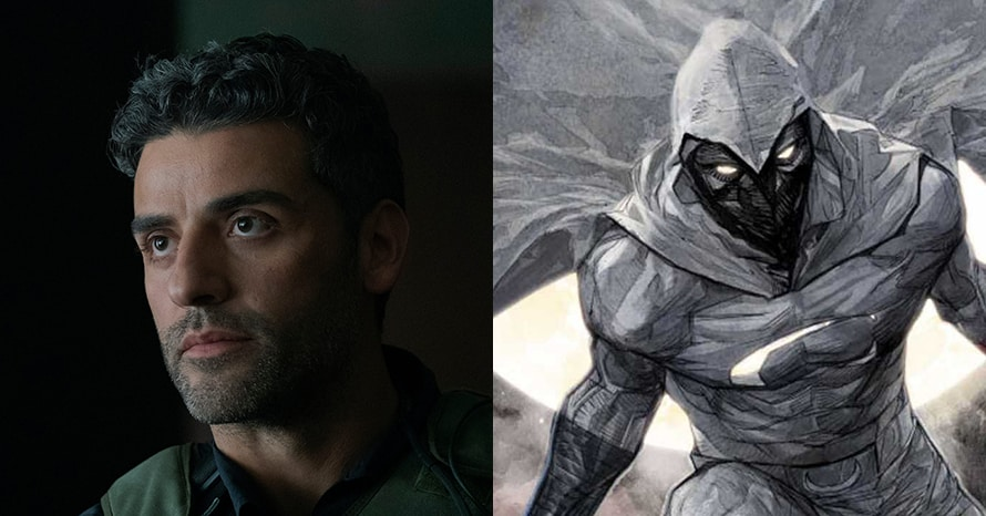 See Oscar Isaac Suit Up As Marc Spector For The 'Moon Knight' Show
