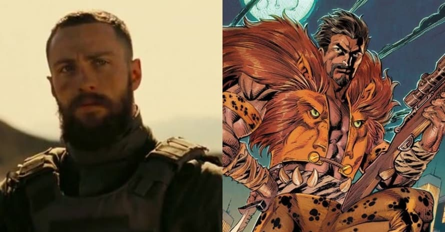 See Aaron Taylor-Johnson Become Spider-Man Villain For Kraven Film
