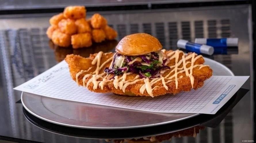 Avengers Campus Ant-Man Chicken Sandwich