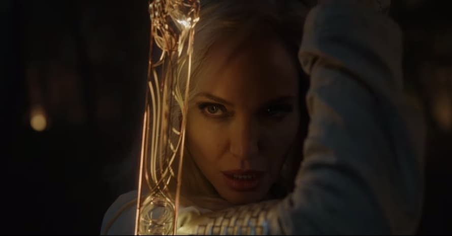 Eternals Marvel Studios Angelina Jolie Thena