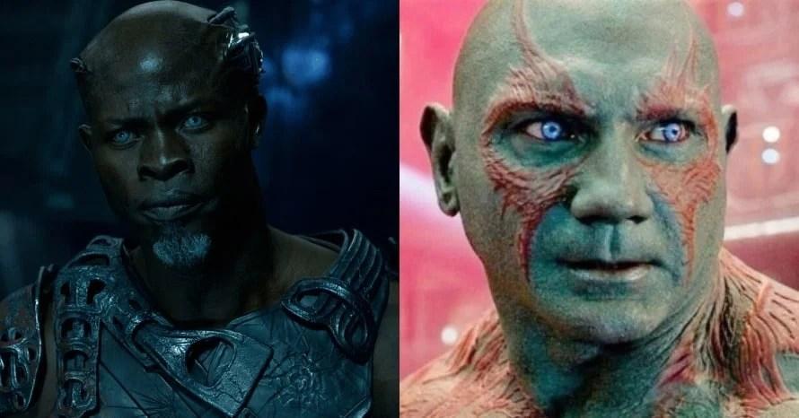 'Guardians of the Galaxy': Djimon Hounsou Wasn't Big Enough To Play Drax