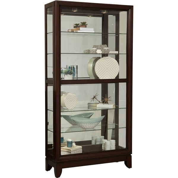 Large Curio Cabinets to Beautify any Room Decor