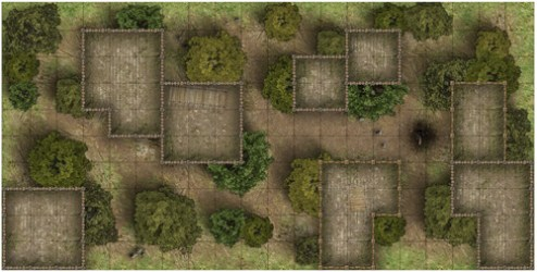 forest village maps map heroic dungeon hut battle rpg wilderness printable autumn google pack guild huts summer path forests background