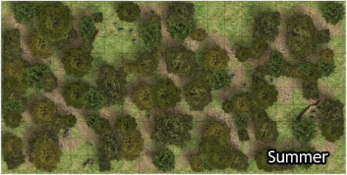 Heroic Maps: Forest Paths Heroic Maps Wilderness Forests Dungeon Masters Guild