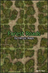 forest maps heroic wilderness geomorphs roads
