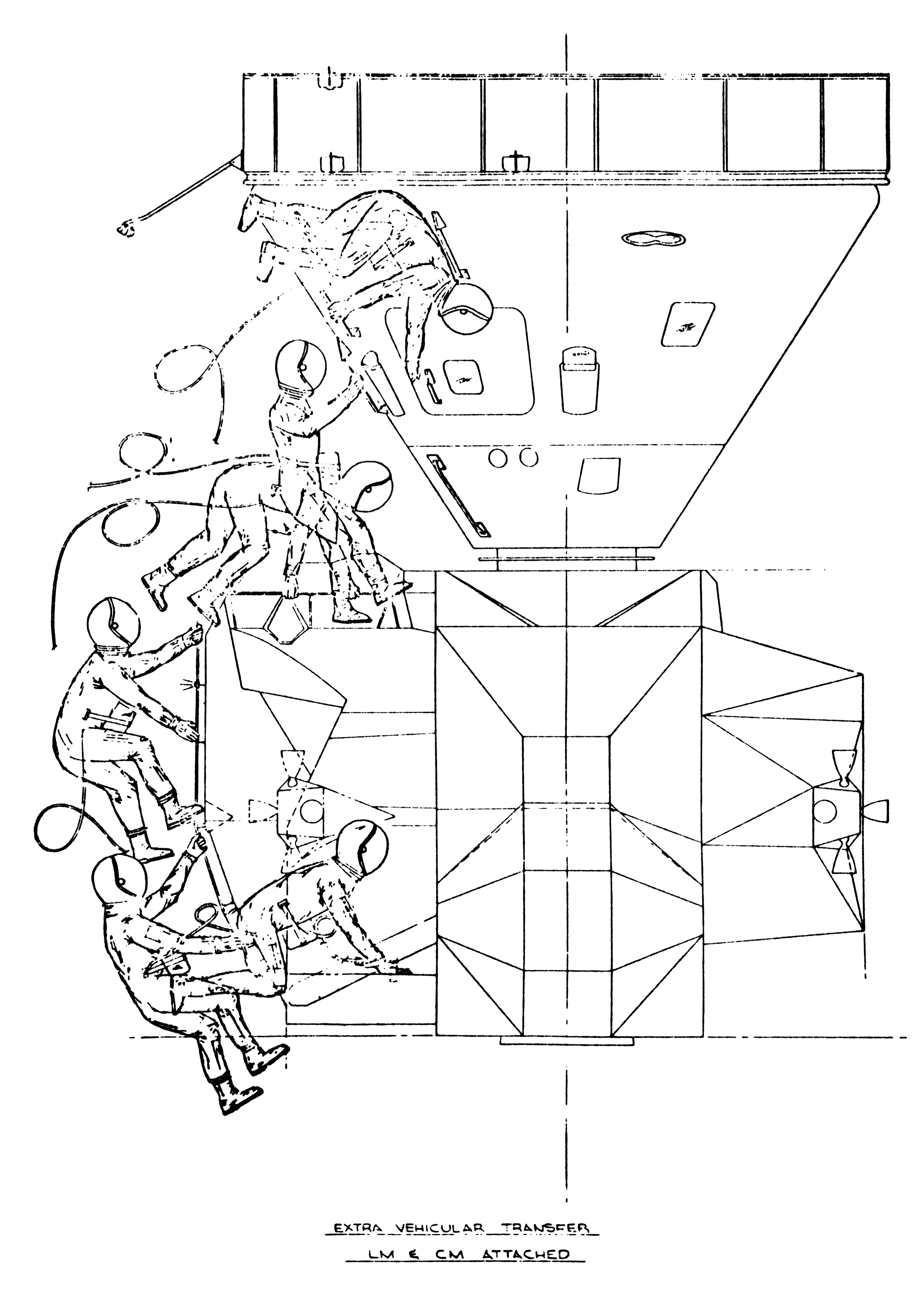 Lm To Cm Extravehicular Transfer