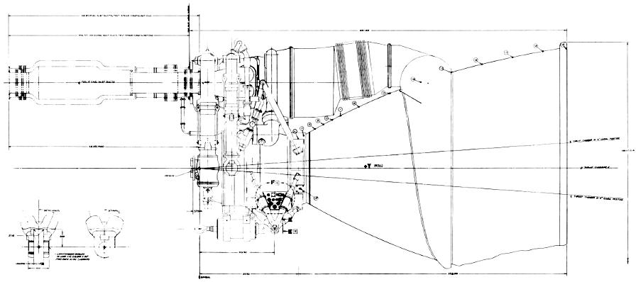 F-1 Rocket Engine General Configuration