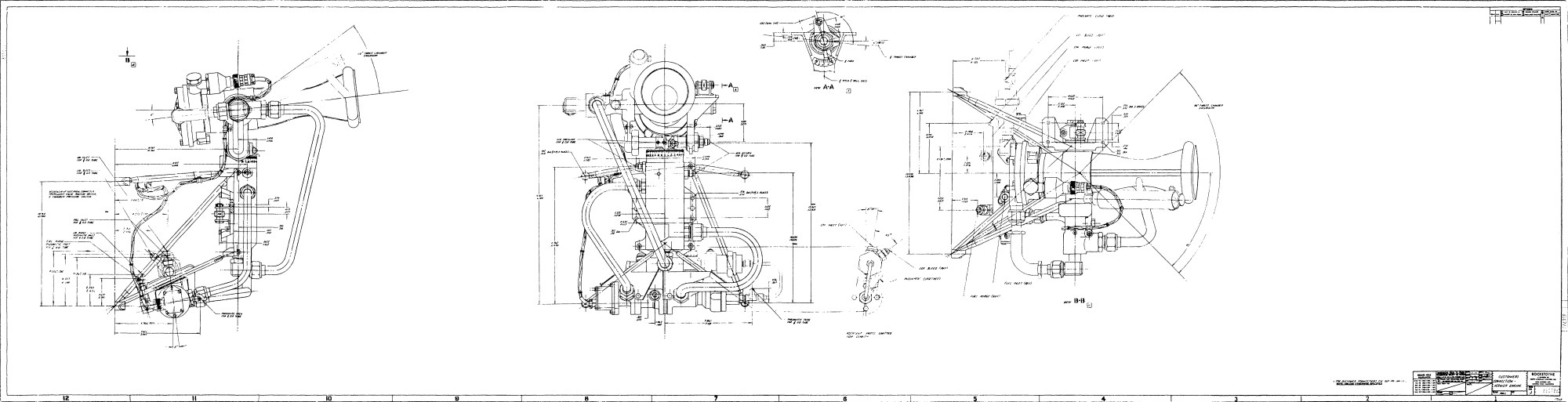 hight resolution of taken from design information report for the lv 2a propulsion system ylr79 na 13 main engine and lr101 na 11 vernier engines pages 23 24 pages 59 64