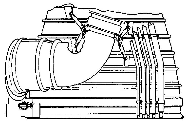Saturn I/IB Turbine Exhaust