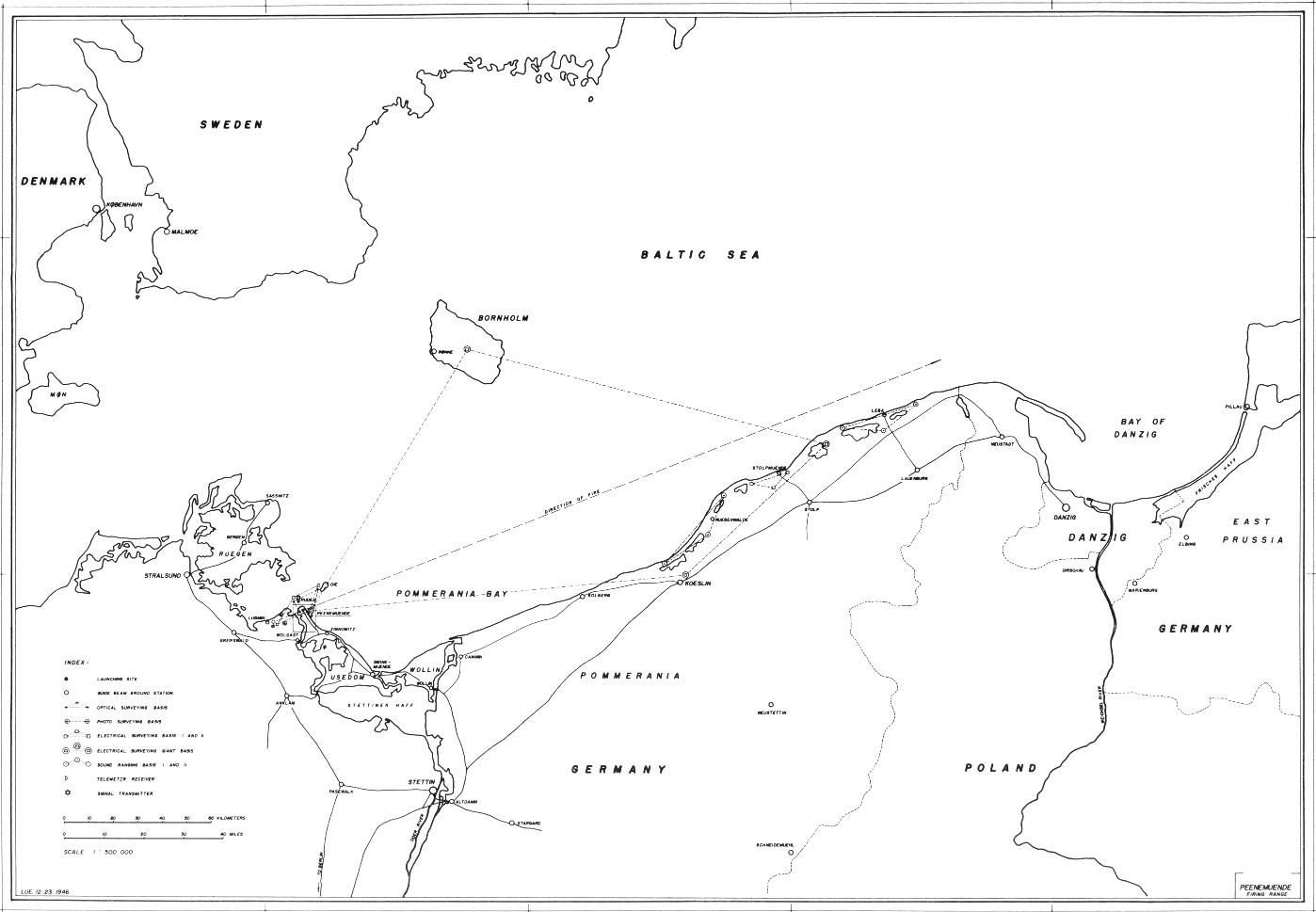 Peenemünde Maps