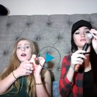 These girls just hanging out smoking meth on video like they're the shit